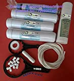 Luzon Dzire RO Water Filter RO Purifier COMPLETE SERVICE KIT +ORIGINAL 80 GPD CSM MEMBRANE