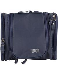 Tamirha Polyester Navy Blue Multi Pocket Travel Bag Pouch Organizer
