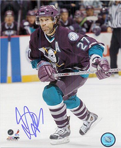 Signed Niedermayer, Scott (Anaheim Mighty Ducks) 8x10 Photo autographed