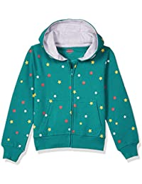 Amazon Brand - Jam & Honey Girl's Cotton Sweatshirt