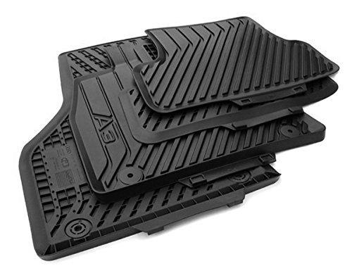 ORIGINAL AUDI Tapis caoutchouc d'origine qualité TAPIS DE SOL CAOUTCHOUC noir de 4 pièces