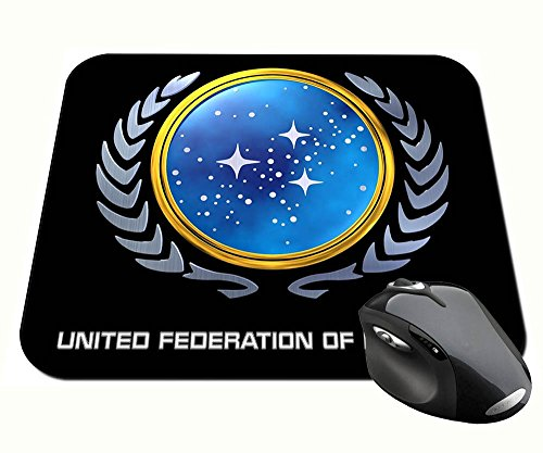 Preisvergleich Produktbild Star Trek United Federation of Planets C Mauspad Mousepad PC