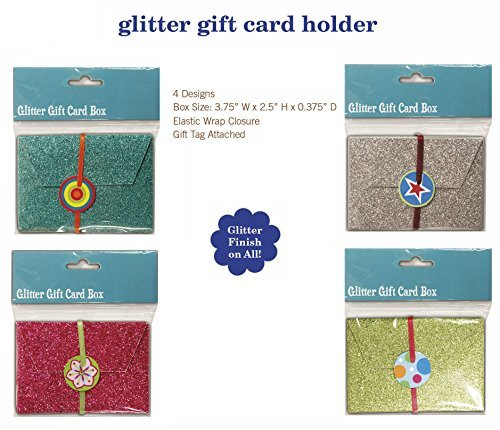 Glitter Gift Card Holder Box For Augment Shower Reception Birthday By B