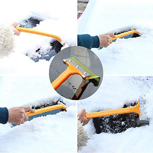 Ndier-2-Pezzi-Manico-Lungo-Kit-Multi-Funzione-di-rimozione-della-Neve-PalaGhiaccio-Pala-Winter-Snow-antighiaccio-Strumento