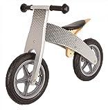 United Kids 904021 Lauflernrad/Laufrad, silber/schwarz