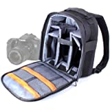 DURAGADGET High Quality SLR / DSLR Camera Backpack / Rucksack with Adjustable Padded Interior for Canon - EOS 5D Mark II/mk II, EOS 350D, EOS 650D, EOS 600D, EOS 70D, EOS 60Da & EOS 6D