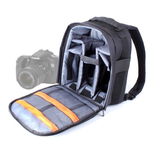 DURAGADGET-Mochila-Resistente-Con-Compartimentos-Para-Cmara-Canon-EOS-700D-70D-7D-Resistente-Al-Agua-Funda-Impermeable-Perfecta-Para-Fotografiar-Bajo-La-Lluvia