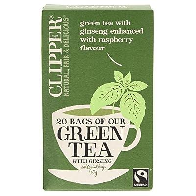 Clipper thé vert au ginseng 20 Bag