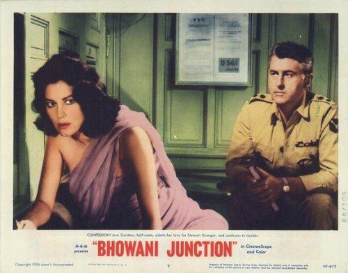 Bhowani Junction Plakat Movie Poster (11 x 14 Inches - 28cm x 36cm) (1955) G