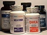 Image de Je prends de la DHEA, de la mélatonine et des antioxydants (French Edition)