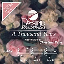 A Thousand Years [Accompaniment/Performance Track] (Daywind Soundtracks) by Daywind