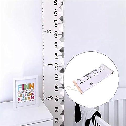ODN Baby Wachstum Diagramm hängende Dekoration Herrscher Raum für Kinder Schlafzimmer Wachstum (Das Diagramm)