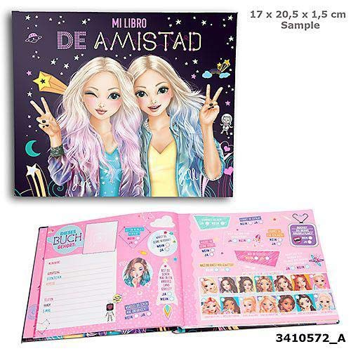 Toy Planet Amigos TOPModel Cuadernos y Libros para Colorear (Top Model 1)