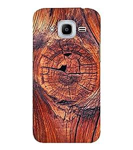 EPICCASE 3d wood finish Mobile Back Case Cover For Samsung J2 2016 (Designer Case)