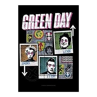 armardi Green Day Poster Fahne