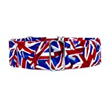 Noddy & Sweets Martingale-Hundehalsband, Design: Union Jack