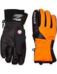 Ziener Inaction Gws Touch Guantes, Hombre, Naranja (Poison Orange), 8.5
