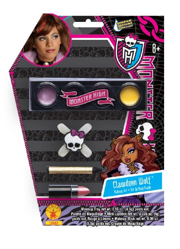 Clawdeen Wolf Kostüm Monster Zubehör High - Rubie's Make-up-Monster High Clawdeen Wolf