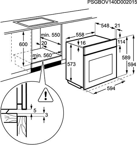 AEG Electrolux BP5014321M Einbaubackofen - 12