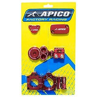 ABP HONDA 3 - Apico Factory Bling Pack - Honda CRF450R 09-16 Red