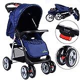 Safeplus Kinderwagen Buggy Sportwagen Reisebuggy Spazierwagen Kinderbuggy Babywagen klappbar Farbwahl