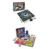 Hasbro B6677100 - Monopoly Banking Ultra, Familienspiel + Tabu XXL, Partyspiel