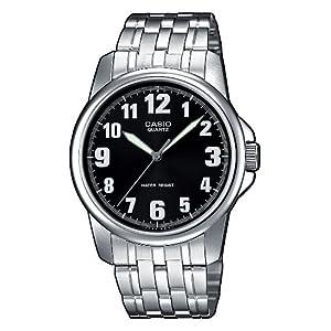 Casio Reloj con Correa de Acero Inoxidable MTP-1260PD-1BEF