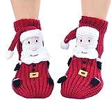 Weihnachten Mädchen Socken, Kapmore 3D Cartoon Tier Socken Geschenk für Frauen Kinder Socken