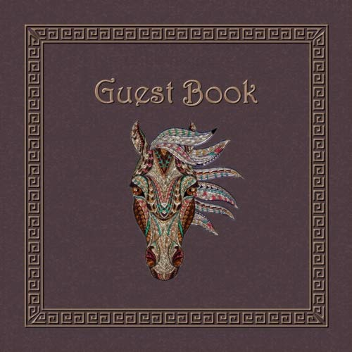 Horse Head / Horse Guest Book por Acequia Publications
