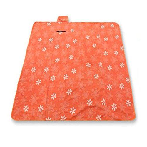 XY&CF 200 x 200 cm Picknick Decke Teppich weiche Wolle gefüllt und wasserdicht Rückensandfeste große Strandmatte Outdoor-Camping (Farbe : E)