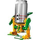 RCTecnic Kit Robot Solar 6 Modelos en 1 | Juguete Construcción DIY Robótica Educativa para Niños | Fácil de Montar, Funciona con Luz Solar y Partes Reciclables