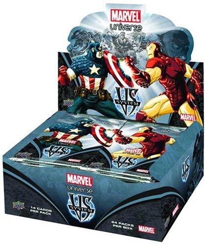 Webkinz Marvel vs System Trading Card Game Marvel Universe Booster Box 24Packungen [Spielzeug] (Vs-system-box)