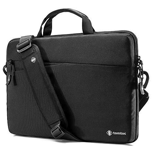 53a5cd731112 tomtoc Sacoche Ordinateur Portable 14 Pouces Sac à bandoulière Sac Cartable  Compatible avec 14 Pouces Acer HP Chromebook| 15 Pouces New MacBook Pro ...