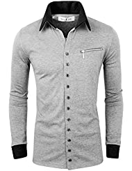 Tom's Ware Col contraste Button up Cardigan-Hommes