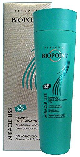 Biopoint Shampoo della Linea Miracle Liss - 200 ml