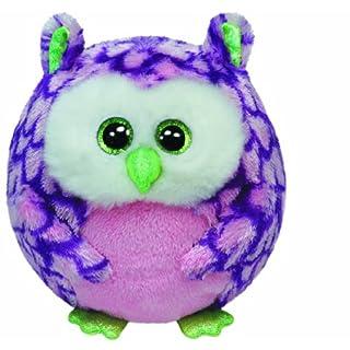 Ty 38130Ozzy Owl Ball Diameter 12cm Purple