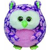 TY 38130 - Ozzy Ball - Eule, Durchmesser 12 cm, violett