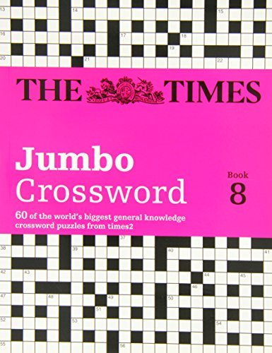 The Times 2 Jumbo Crossword Book 8 (Crosswords) by The Times Mind Games, Grimshaw, John, Times2 (September 12, 2013) Paperback