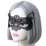 Masques, SHOBDW En Dentelle Noire Masque Masque de Dentelle Noir pour les Yeux pour Mascarade Fête Costumée