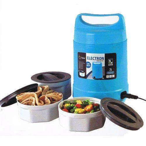 King International 3Etagen Elektrische Heizung Lunch Box | Speisewärmer Behälter Bento tragbar 220V Thermo-Speisebehälter Geckodesign (100{25085d0953efd0e68da8ea774ffca6e83eb659b1a206f99ce4225e3cc765d4a6} BPA-frei) Umweltfreundlich und wiederverwendbar Lunch Box für Erwachsene & Kinder