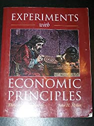 Experiments With Economic Principles