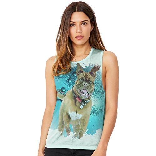 TWISTED ENVY  Damen T-Shirt Mint