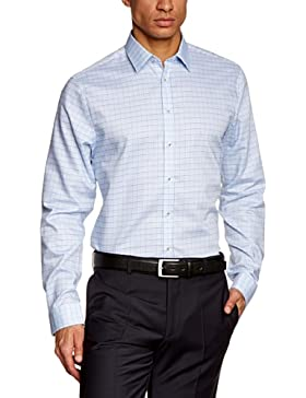 Schwarze Rose Herren Slim Fit Businesshemd MODERN KENT 228404
