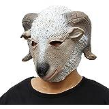 máscara de Halloween Navidad ovejas partido partido de la máscara de estilo mascarilla Suministros divertido de la fiesta Juegos