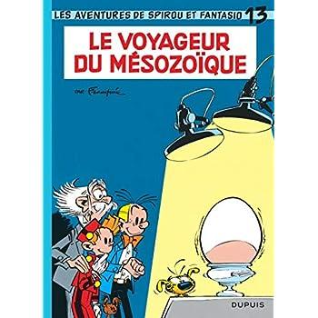 Spirou et Fantasio, tome 13 : Le voyageur du Mésozoïque