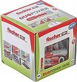 fischer - Duopower 10X50 Diy/ (Caja brico de 50 Uds), 535456