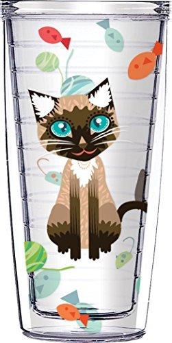 Cynthia die Katze klar Traveler 16 Unzen Becher Tasse -