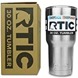 RTIC Stainless Steel 30 oz. Tumbler with Lid