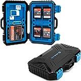 LENS-AID Speicherkarten Schutzbox für SD, CF, Micro-SD, TF, SIM-Karten - Box zur Aufbewahrung bis...