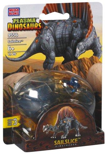 Mega Bloks Plasma Dinosaurs Sailslice Dimetrodon 9556